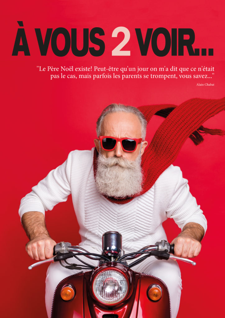 Couverture du magazine de Noël A Vous 2 Voir