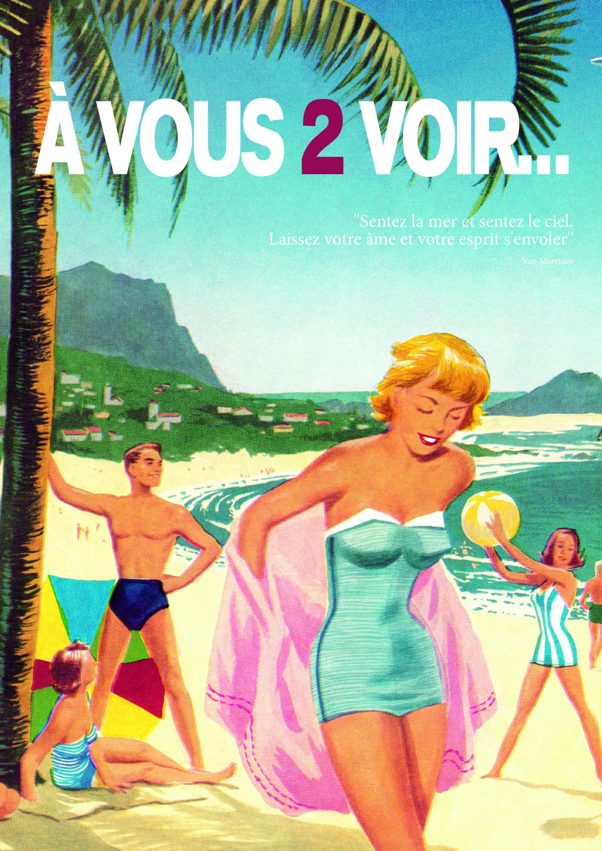 Couverture du magazine d'été A Vous 2 Voir 2021