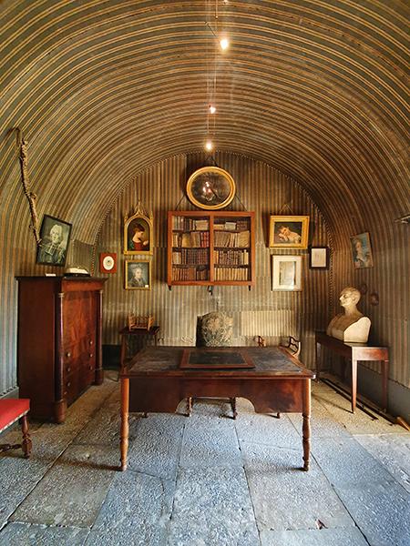 chateau de Pierreclos, l'entrée