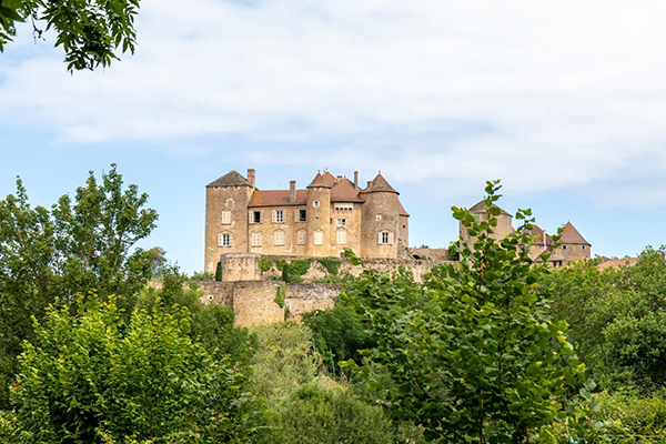 Joyau de la Route Lamartine : Berzé-le-Chatel