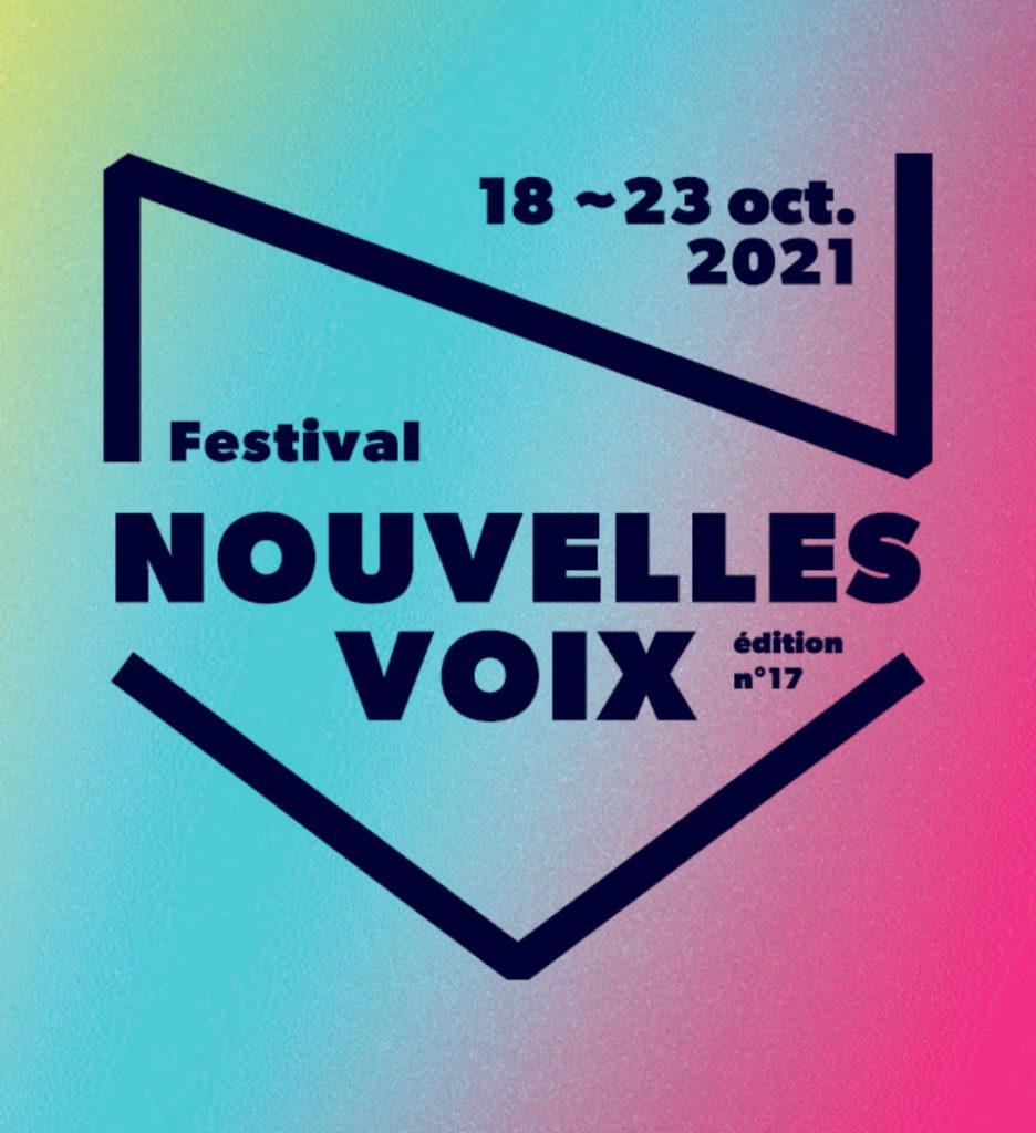 Affiche Nouvelles Voix 2021
